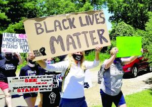 BLM Protest-Mascoutah 6.13.20
